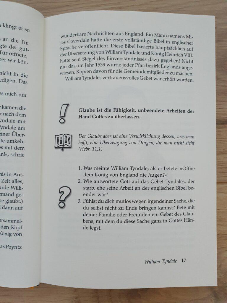 Buch Glaubenshelden
